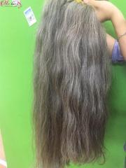 Vietnamese Hot sales 100% unprocessed hair gray