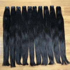 Factory wholesales straight hair weft extension