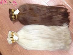 Human hair blonde from Vietnam