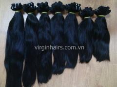 Natural hair straight from Vietnam no Tangle no