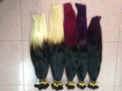 Colored Virgin Hair