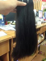 Straight hair with all lengths