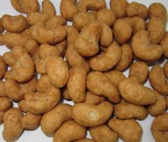 Roasted Cashew Nuts With Coconut Juice