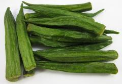Okra Chips Fried Vegetable from Vietnam