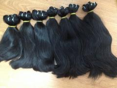 TOP HIGH QUALITY OF STRAIGHT WEFT HAIR IN MIC HAIR