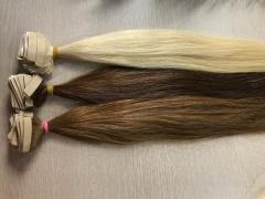 Color human hair extension Vietnam - no silicon