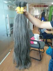 Natual Grey human hair from Viet Nam hair