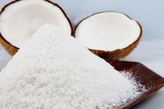 Desiccated coconut Low fat- high fat