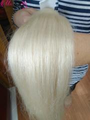 COLOR HAIR #60 WHITE HAIR IN BULK