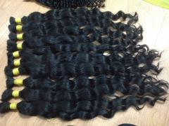 DEEP WAVY DOUBLE DRAWN HAIR IN BULK