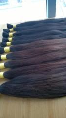Vietnam dark brown natural hair