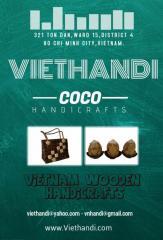 Coconut wooden handicrafts
