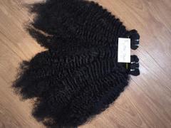 100% real human hair curly hair