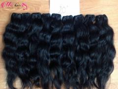 Natural wavy cambodia hair 100% remy hair
