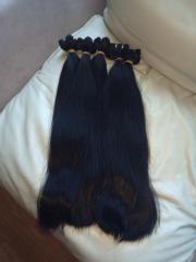 Straight Hair Extensions human hair Virgin
