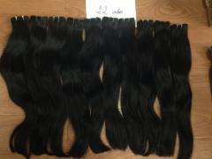 Straight weaving human hair extensions wholesale price