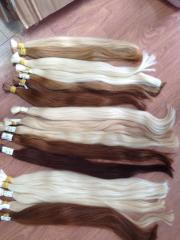 Bleach color straight human hair real hair extensions 10inches-28inches