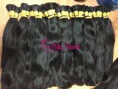 Straight Bulk 100% Raw Human Hair