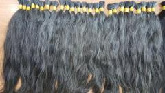100% Pure Grey Hair Human Hair Bulk