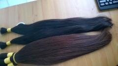 Vietnam dark brown natural hair soft and silky