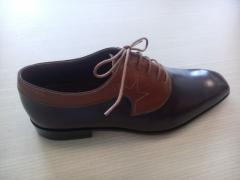 Vietnam of handwork from skin Oxford footwear for