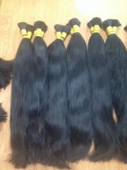100% Human hair bulk Straight hair Vietnam