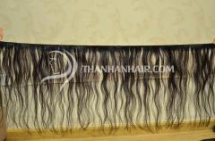 WEft hair from vietnamese woman