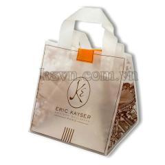 LDPE, HDPE soft loop handle plastic bag