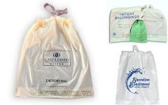 Drawstring plastic bag - Drawtape plastic bag