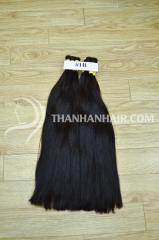 Bulk hair black hair from the company of safety