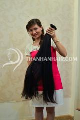 Longest hair from thanh an hair company