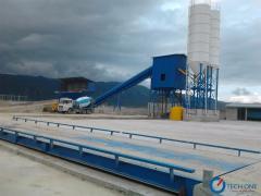 Concrete mixing plant  100 - 150 m3 per hour