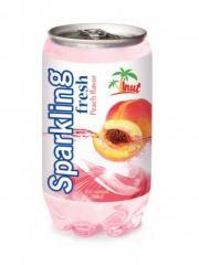 Sparkling Fresh Peach Flavour