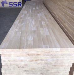 Ván ghép gỗ cao su