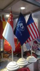 Cờ để bàn, cờ các nước