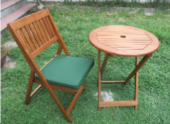 Folding Bistro set outdoor furniture