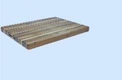 Teak wood cutting board