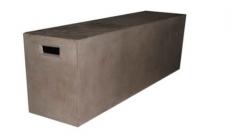 High quality eco friendly fiber concrete stool outdoor furniture