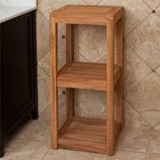 High quality solid bathroom furniture shelf