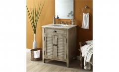 High quality solid  vanity cabinet for bathroom