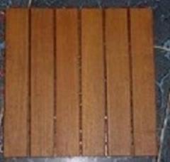 DIY solid wood deck tile flooring garden furniture
