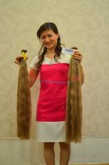 Long hair , color hair