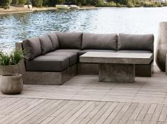 Fiber Cement concrete sofa