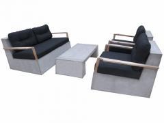 Fiber Cement concrete sofa