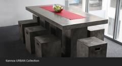 Fiber Cement concrete table