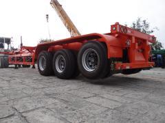Semi-trailer va container