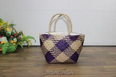 Túi xách thời trang bằng lá bàng - BH2780C-1MC