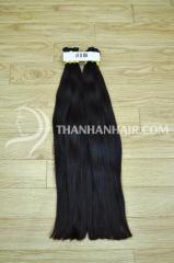 Vietnamese virgin double drawn straight bulk Hair 100% human raw Vietnamese hair