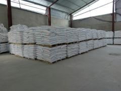 Sales by a calcium carbonate
