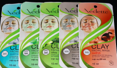 Skin Care Products Clay Face Mask Vedettle 15ml